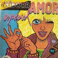 Cómics: 'EL VÍBORA', ESPECIAL AMOR.. Lote 23208751