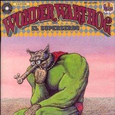 Cómics: WONDER WART-HOG. EL SUPERSERDO POR GILBERT SHELTON NUMERO 6. Lote 10946542