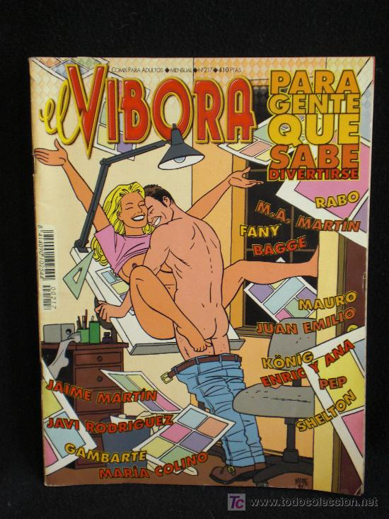 VIBORA. Nº 217 (Tebeos y Comics - La Cúpula - El Víbora)