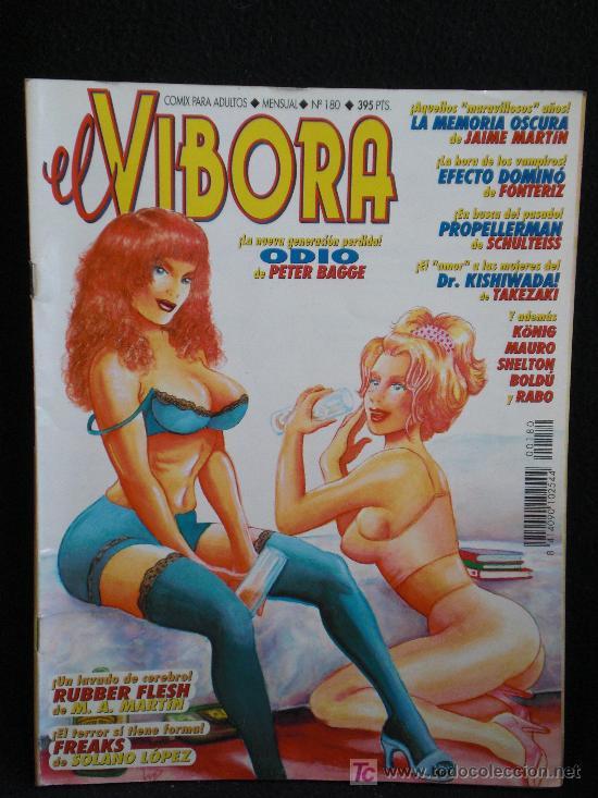 VIBORA. Nº180 (Tebeos y Comics - La Cúpula - El Víbora)