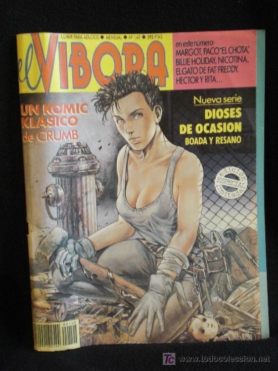 VIBORA. UN KOMIC KLASICO DE CRUMB. Nº 140 (Tebeos y Comics - La Cúpula - El Víbora)