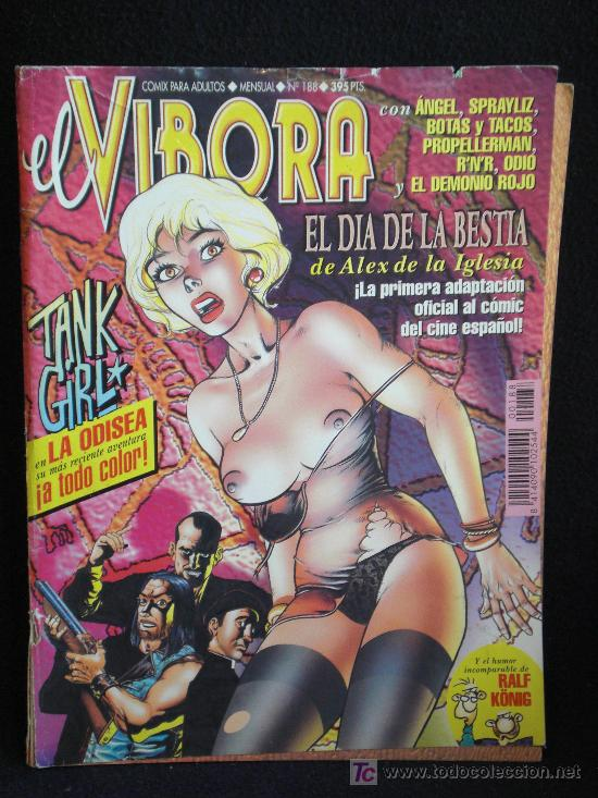 VIBORA. Nº 188 (Tebeos y Comics - La Cúpula - El Víbora)
