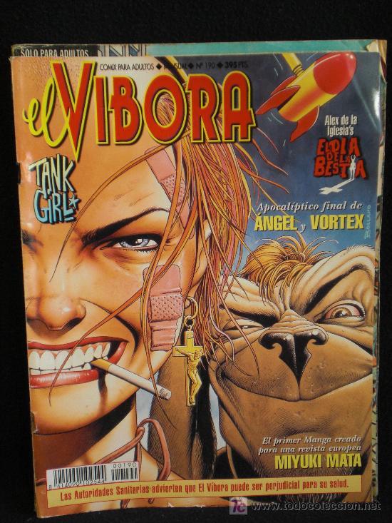 VIBORA. Nº 190 (Tebeos y Comics - La Cúpula - El Víbora)