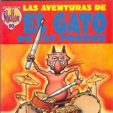Comics: LAS AVENTURAS DEL GATO DE FAT FREDDY POR GILBERT SHELTON. OBRAS COMPLETAS 10. Lote 26896685