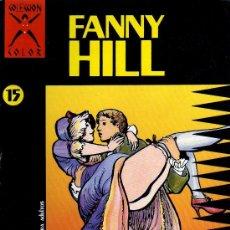 Cómics: FANNY HILL - CAVELL - COLECCIÓN COLOR 15, EDICIONES LA CÚPULA 1988. Lote 21006116