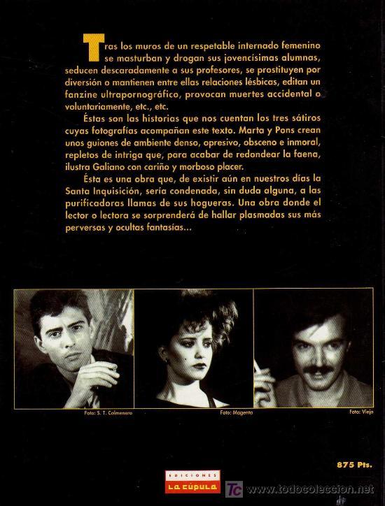 Cómics: INTERNAS - GALIANO / PONS - VIBORA COMIX, EDICIONES LA CÚPULA 1997 - Foto 2 - 21006114