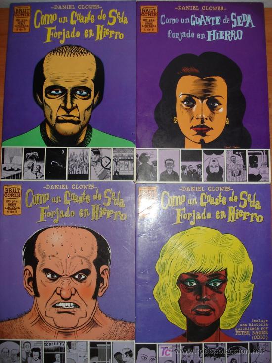 LOTE DE 3 COMICS COMO UN GUANTE DE SEDA FORJADO EN HIERRO. DANIEL CLOWES. EDICIONES LA CUPULA. (Tebeos y Comics - La Cúpula - Comic USA)