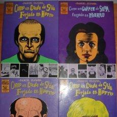 Cómics: LOTE DE 3 COMICS COMO UN GUANTE DE SEDA FORJADO EN HIERRO. DANIEL CLOWES. EDICIONES LA CUPULA.. Lote 27000346
