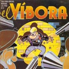 Cómics: EL VIBORA Nº 17 1980 EDICIONES LA CUPULA. Lote 17796513