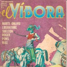 Cómics: EL VIBORA Nº 23 1980 EDICIONES LA CUPULA. Lote 17796554