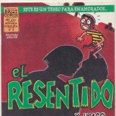 Cómics: BRUT COMIX. Nº 2. EL RESENTIDO.. Lote 18644289