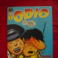 Cómics: ODIO VOL. 1 -PETER BAGGE - NOVELA GRAFICA - EDICIONES LA CUPULA. Lote 24035682