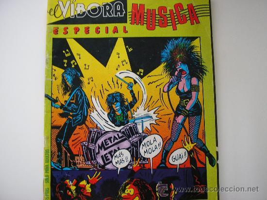 REVISTA EL VIBORA. ESPECIAL MUSICA. 1981 (Tebeos y Comics - La Cúpula - El Víbora)
