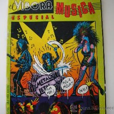 Cómics: REVISTA EL VIBORA. ESPECIAL MUSICA. 1981. Lote 18748113