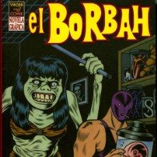 Cómics: EL BORBAH - CHARLES BURNS - 2004 - VIBORA COMIX - LA CUPULA - NOVELA GRAFICA. Lote 20128669