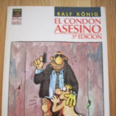 Cómics: RALF KONIG - EL CONDON ASESINO (VIBORA, 3ª EDICION). . Lote 25006724