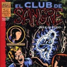 Fumetti: EL CLUB DE SANGRE - CHARLES BURNS - 1997 - BRUT COMIX - LA CUPULA. Lote 21314671