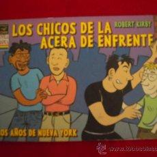 Cómics: LOS CHICOS DE LA ACERA DE ENFRENTE - ROBERT KIRBY - 126 PAGINAS T.BLANDA B/N. Lote 24057827
