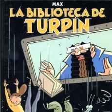 Cómics: MAX - LA BIBLIOTECA DE TURPIN - PEQUEÑO PAIS ALTEA 1990 - TAPAS CARTÓN DURO - 48 PÁGINAS COLOR . Lote 22650855
