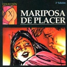 Cómics: MARIPOSA DE PLACER - FEROCIUS - COLECCIÓN X Nº 49 - LA CÚPULA 2002 - 50 PÁGINAS BLANCO Y NEGRO. Lote 22789332