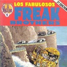 Cómics: LOS FABULOSOS FREAK BROTHERS / OBRAS COMPLETAS SHELTON 1 / 1990. Lote 47381312