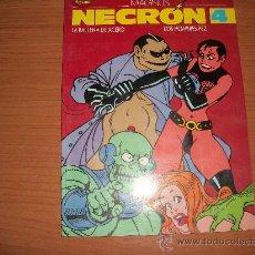 Cómics: EL VIBORA PRESENTA A NECRON Nº 4 EDICIONES LA CUPULA 1987. Lote 23409779