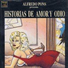 Cómics: HISTORIAS DE AMOR Y ODIO - LA CÚPULA 199'S - PRECINTADO - TAPAS CARTÓN BLANDO. Lote 23664430