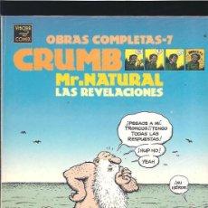 Cómics: ROBERT CRUMB MR NATURAL. Lote 36165450
