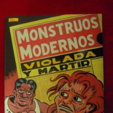 Cómics: MONSTRUOS MODERNOS - MARTI - TAPA BLANDA. Lote 26215696
