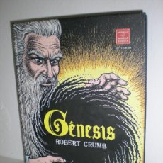 Cómics: GÉNESIS (CARTONÉ) - ROBERT CRUMB - LA CUPULA. Lote 26522708