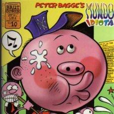 Cómics: PETER BAGGE'S - MUNDO IDIOTA - BRUT COMIX Nº 10 - EDICIONES LA CÚPULA. Lote 26916397