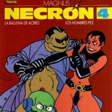 Cómics: NECRON 4, LA BALLENA DE ACERO, LOS HOMBRES PEZ - MAGNUS - ED. LA CÚPULA. Lote 27074843