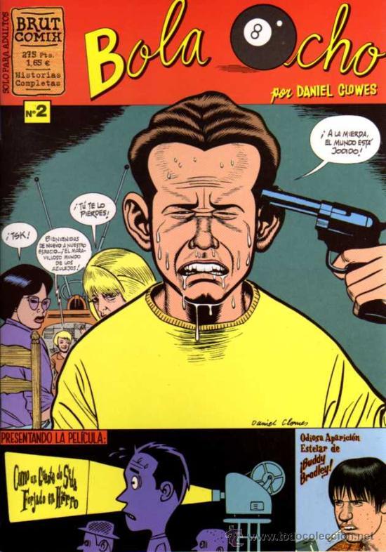 BOLA OCHO Nº 2 - DANIEL CLOWES - BRUT COMIX - ED. LA CÚPULA (Tebeos y Comics - La Cúpula - Comic USA)