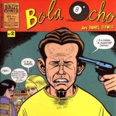 Cómics: BOLA OCHO Nº 2 - DANIEL CLOWES - BRUT COMIX - ED. LA CÚPULA. Lote 27225353