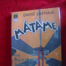 Cómics: MATAME - DAVID LAPHAM - NOVELA GRAFICA. Lote 34986968