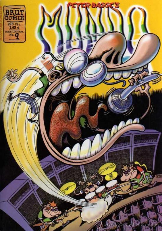 PETER BAGGE'S - MUNDO IDIOTA Nº 9 - BRUT COMIX - ED. LA CÚPULA (Tebeos y Comics - La Cúpula - Comic USA)