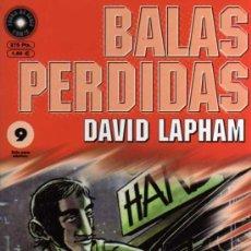 Cómics: BALAS PERDIDAS Nº 9 - DAVID LAPHAM - FUERA DE SERIE COMIX - ED. LA CÚPULA. Lote 27684769