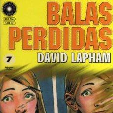 Cómics: BALAS PERDIDAS Nº 7 - DAVID LAPHAM - FUERA DE SERIE COMIX - ED. LA CÚPULA. Lote 27684772