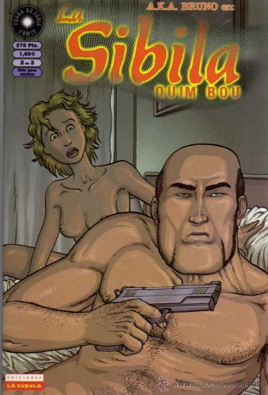LA SIBILA - 2 DE 3 - QUIM BOU - EDICIONES LA CÚPULA (Tebeos y Comics - La Cúpula - Autores Españoles)