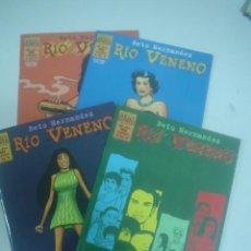 Cómics: BETO HERNÁNDEZ: RÍO VENENO ¡¡COMPLETA!!. Lote 27749857