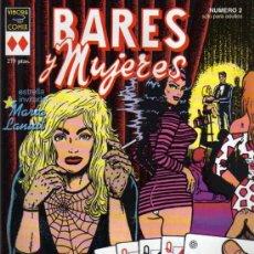 Cómics: BARES Y MUJERES - Nº 2 - VIBORA COMIX - ED LA CÚPULA. Lote 27833977