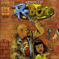 Cómics: R - BOY - Nº 1 - EL CASTO INFANTE - REBOLLO - BRUT COMIX - EDICIONES LA CÚPULA. Lote 27961124