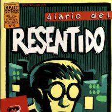 Cómics: DIARIO DEL RESENTIDO - Nº 4 - JUACO - BRUT COMIX - EDICIONES LA CÚPULA. Lote 27961126