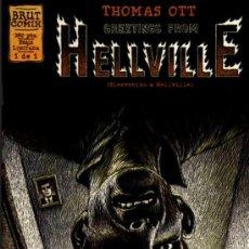 Comics: HELLVILLE - THOMAS OTT - 1 DE 1 - BRUT COMIX - EDICIONES LA CÚPULA. Lote 27961147