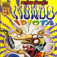 Cómics: PETER BAGGE'S - MUNDO IDIOTA Nº 3 - BRUT COMIX - EDICIONES LA CÚPULA. Lote 27961159
