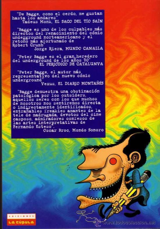 Cómics: PETER BAGGES - MUNDO IDIOTA Nº 4 - BRUT COMIX - EDICIONES LA CÚPULA - Foto 2 - 27961157