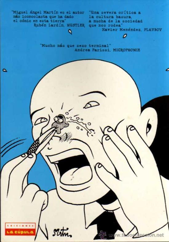 Cómics: BRIAN THE BRAIN - MIGUEL ANGEL MARTIN - BRUT COMIX Nº 4 - EDICIONES LA CÚPULA - Foto 2 - 27961138