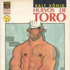 Cómics: HUEVOS DE TORO.(DE RALF KÖNIG) MUY DIVERTIDO. Lote 28086596