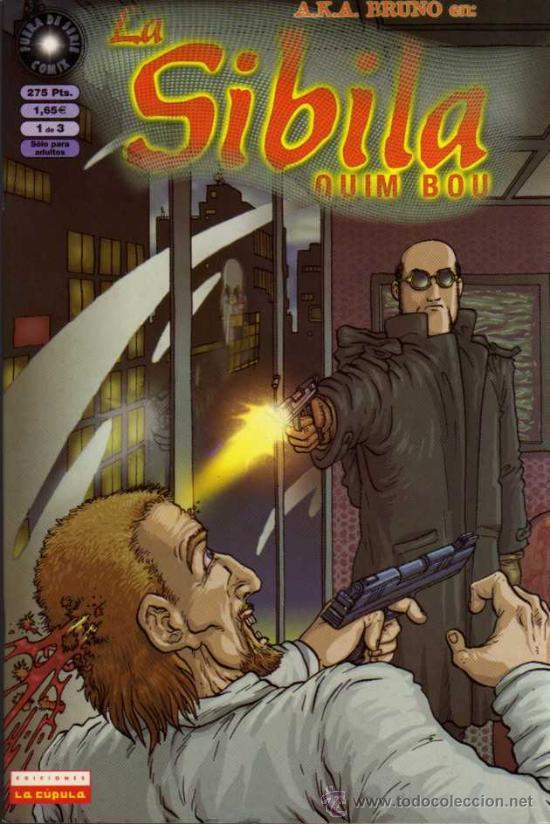 LA SIBILA - 1 DE 3 - QUIM BOU - EDICIONES LA CÚPULA (Tebeos y Comics - La Cúpula - Autores Españoles)
