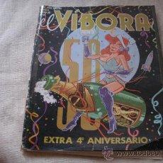 Cómics: EL VIBORA N 50 / EXTRA 4 ANIVERSARIO /. Lote 28318414